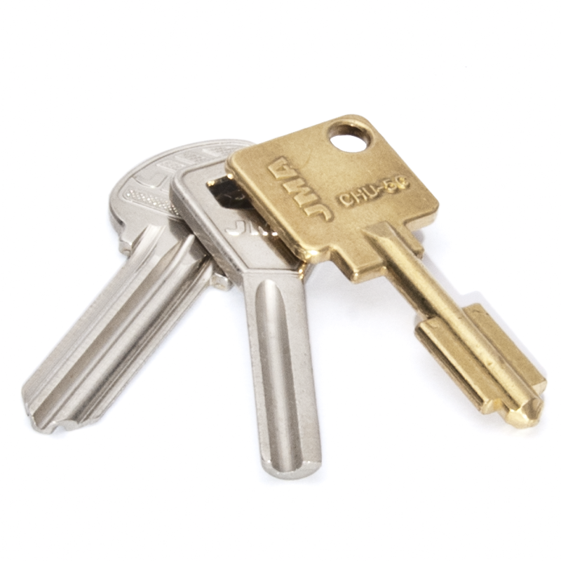 High security or restricted key cutting